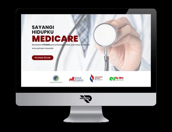 Sayangi Hidupku Medicare | Portfolio IAMRIZAL.COM