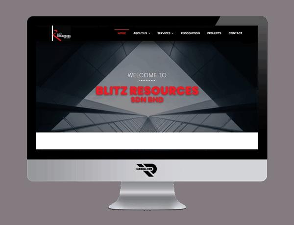 Blitz Resources Sdn Bhd | Portfolio IAMRIZAL.COM