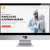 Tempah Kad Kahwin | Portfolio IAMRIZAL.COM