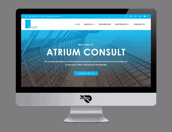 Atrium Consult | Portfolio IAMRIZAL.COM