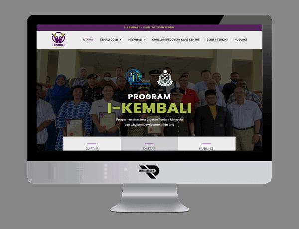 I-Kembali | Portfolio IAMRIZAL.COM