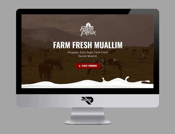 Farm Fresh Muallim | Portfolio IAMRIZAL.COM